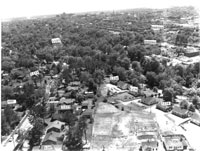 Aerial Photo of Mordecai, 1957